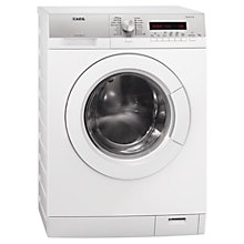 Buy AEG L76675FL Freestanding Washing Machine, 7kg Load, A+++ Energy Rating, 1600rpm Spin, White Online at johnlewis.com