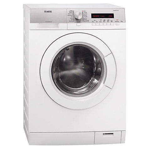 Buy AEG L76675FL Washing Machine, 7kg Load, A+++ Energy Rating, 1600rpm Spin, White Online at johnlewis.com