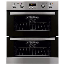 Buy Zanussi ZOF35712XK Double Electric Oven, Stainless Steel Online at johnlewis.com