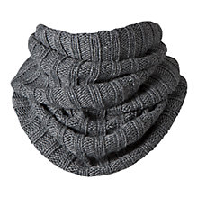 Buy Barts Agata Col Neck Warmer Snood, Grey Online at johnlewis.com