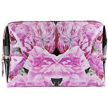 Buy Ted Baker Crostol Bow Wash Bag, Black Online at johnlewis.com