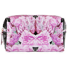 Buy Ted Baker Caffaro Tulip Wash Bag, Black Online at johnlewis.com