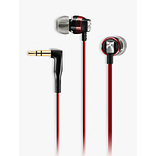 Buy Sennheiser CX 3.00 In-Ear Headphones, Red Online at johnlewis.com