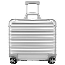 Buy Rimowa Topas Business Multiwheel 44cm Suitcase, Silver Online at johnlewis.com
