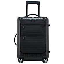 Buy Rimowa Bolero Cabin Multiwheel 55cm Suitcase, Black Online at johnlewis.com