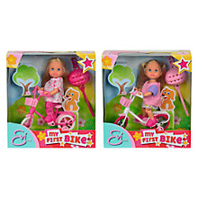 Buy Evi My First Bike Doll & Bicycle, Assorted Online at johnlewis.com