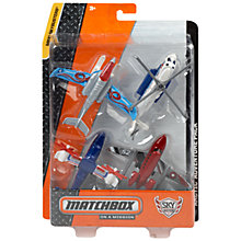 Buy Matchbox Sky Busters, Pack of 4, Assorted Online at johnlewis.com