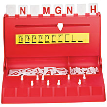Buy John Lewis Hangman Travel Game Online at johnlewis.com