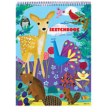 Buy Eeboo Life on Earth Sketchbook Online at johnlewis.com