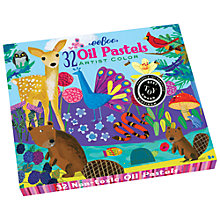 Buy Eeboo Life on Earth Oil Pastels Online at johnlewis.com