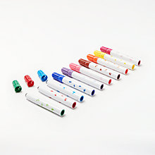 Buy John Lewis 10 Mini Stamper Markers Online at johnlewis.com