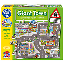 Buy Orchard Toys Giant Town Jigsaw Puzzle Online at johnlewis.com