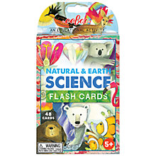 Buy Eeboo Science Flash Cards Online at johnlewis.com