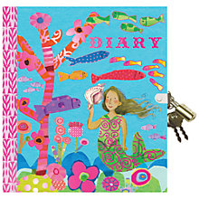 Buy Eeboo Mermaid Diary Online at johnlewis.com