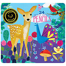 Buy Eeboo Life on Earth Pencils Online at johnlewis.com