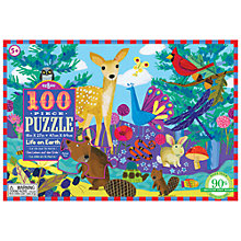 Buy Eeboo Life on Earth Jigsaw Puzzle Online at johnlewis.com
