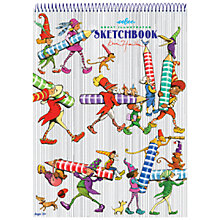 Buy Eeboo Striped Sketchbook Online at johnlewis.com
