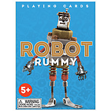 Buy Eeboo Robot Rummy Playing Cards Online at johnlewis.com