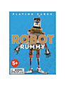 Eeboo Robot Rummy Playing Cards
