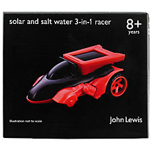 Buy John Lewis Solar & Salt Water 3-in-1 Racer Online at johnlewis.com