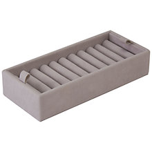 Buy Stackers Grey Ringroll, Large Online at johnlewis.com