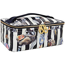 Buy House of Hackney Striped Travel Wash Bag, Midnight Online at johnlewis.com