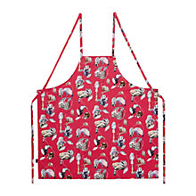 Buy House of Hackney Empire Cotton Apron, Pink Online at johnlewis.com
