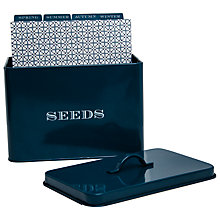 Buy John Lewis Croft Collection Seed Organiser Online at johnlewis.com
