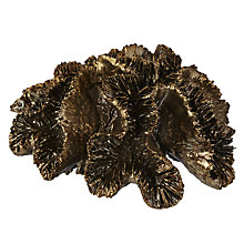 Buy Coral Sponge Ornament, Gold Online at johnlewis.com