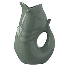 Buy John Lewis Glug Green Fish Jug Online at johnlewis.com