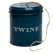 Buy John Lewis Croft Collection String in a Tin Online at johnlewis.com