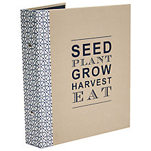 Buy John Lewis Croft Collection Garden Journal Online at johnlewis.com