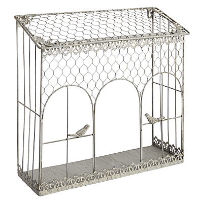 Iron Wall Rack with Birds
