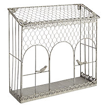 Buy Iron Wall Rack with Birds Online at johnlewis.com