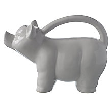 Buy Pig Watering Can, White Online at johnlewis.com
