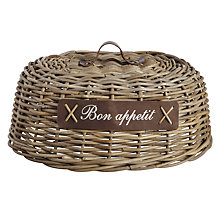 Buy Bon Appetite Rattan Food Cover Online at johnlewis.com