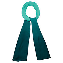 Buy Viyella Ombre Scarf, Kingfisher Online at johnlewis.com