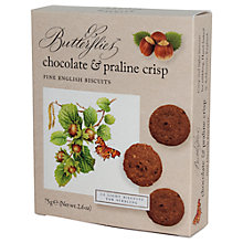 Buy Artisan Biscuits Butterflies Chocolate and Praline Crisp, 75g Online at johnlewis.com
