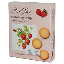 Buy Artisan Biscuits Butterflies Strawberry Crisp, 75g Online at johnlewis.com