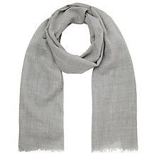 Buy John Lewis Melange Wool Wrap, Grey Online at johnlewis.com