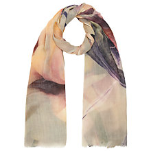 Buy John Lewis Petersham Floral Scarf, Multi Online at johnlewis.com