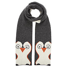 Buy John Lewis Penguin Scarf, Grey Online at johnlewis.com