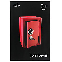 Buy John Lewis Toy Tin Safe Online at johnlewis.com