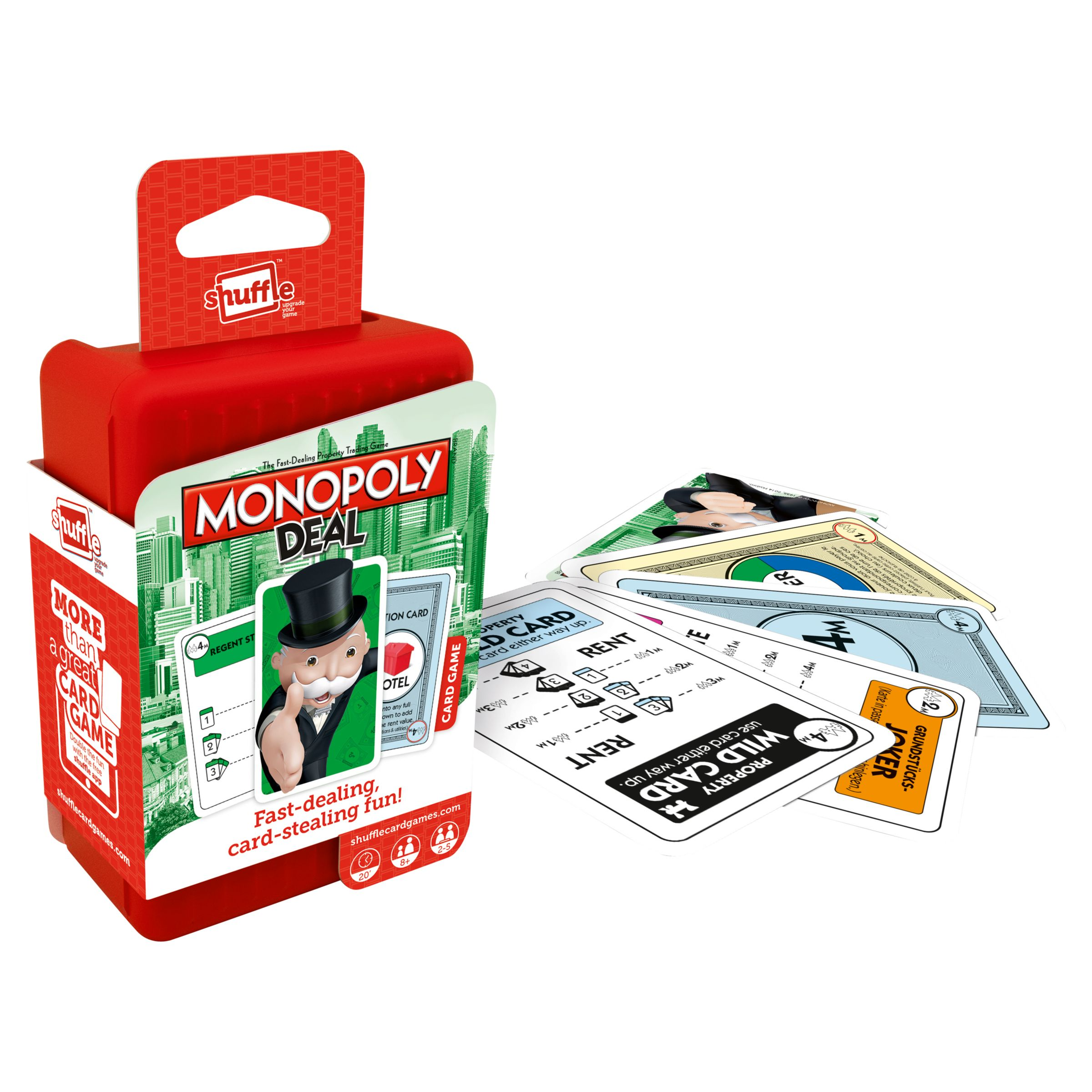 Monopoly Monopoly Deal Shuffle Card Game