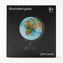 Buy John Lewis Illuminated Globe Online at johnlewis.com