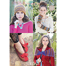 Buy Sirdar Women's Accessories Knitting Leaflet, 7173 Online at johnlewis.com