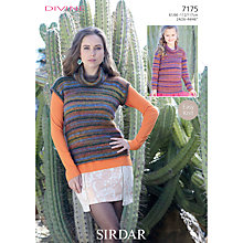 Buy Sirdar Women's and Girls' Jumper Sewing Leaflet ,7175 Online at johnlewis.com