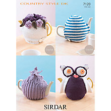 Buy Sirdar DK Tea Cosy Knitting & Crochet Patterns, 7120 Online at johnlewis.com