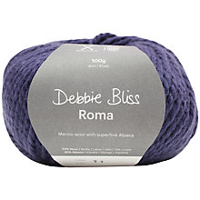 Buy Debbie Bliss Roma Bulky Yarn, 100g Online at johnlewis.com