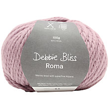 Buy Debbie Bliss Roma Super Chunky Yarn, 100g Online at johnlewis.com